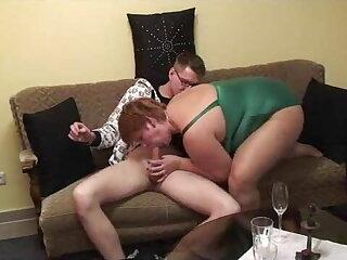 Sucking young man