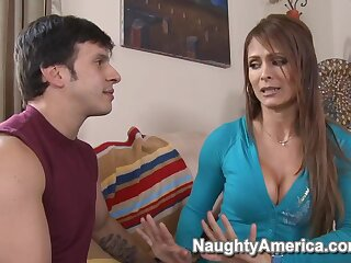 Monique Fuentes & Anthony Rosano encircling My Pty Hot Mom