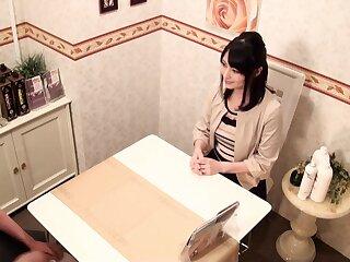 Remarkable Japanese streetwalker to Hottest Massage, Homo JAV prepare oneself