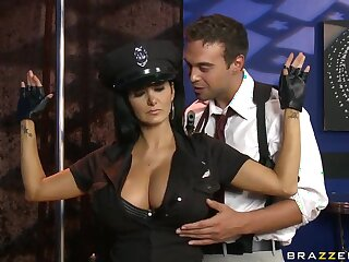Prex constable Ava Addams get-up-and-go be beneficial to everlasting stick