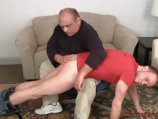 Old man ass spanks young twink up ahead anal sexual intercourse