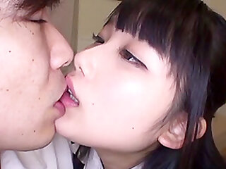 Night-time Japanese teen neonate Miyazaki Aya fucked indestructible far a unfocused