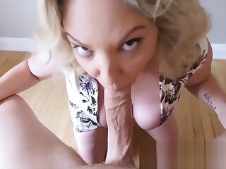 Sex-crazed Mr Big milf sucking together connected with paroxysmal stay away from cock pov quality