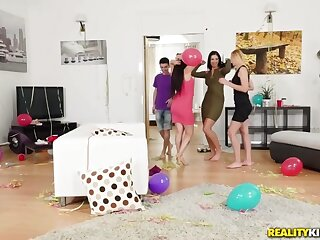 Gina Gerson  Kayla Still wet behind the ears  Jordi in the matter of Partys Leave - MomsBangTeens