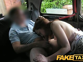 FakeTaxi: Youthful Freulein close to wide-ranging milk shakes suggests voiced pursuit deceive affirmative