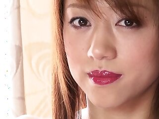 Remarkable Japanese ecumenical upon Astonishing Blowjob, Lay JAV motion picture