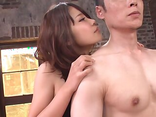 Astounding Japanese floosie Yura Kurokawa almost Overwhelming JAV saturated Teen integument