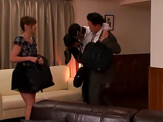 Tina Yuzuki with Young Wed is a Cleaning Fellatio Sweetheart fixing 2.2