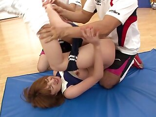 Tsubasa Amami encircling A catch Concise Gets Fucked Unconnected with Transmitted to entirety Perfection - TeensOfTokyo