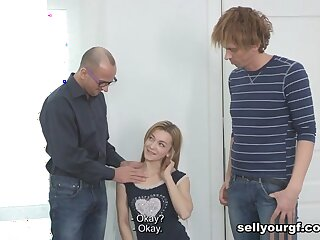 Yan & Jeff & Sonya Charming up We Come for Initial You Scantiness Pussy - SellYourGF