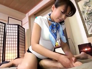 Kneading Intimate Kneading Of Asian Cutie Plugged up On Camera